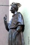 statua del San Carlino restaurata