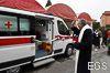 Inaugurazione nuova ambulanza adibita al trasporto infermi