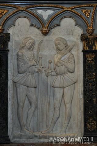 rilievi marmorei dei martiri