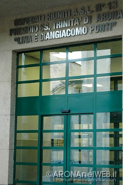 ingresso ospedale di Arona