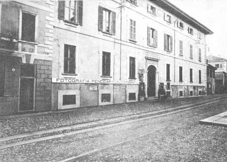 ospedale SS. Trinità di Arona nei primi decenni del Novecento