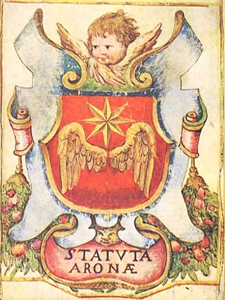 antico stemma aronese