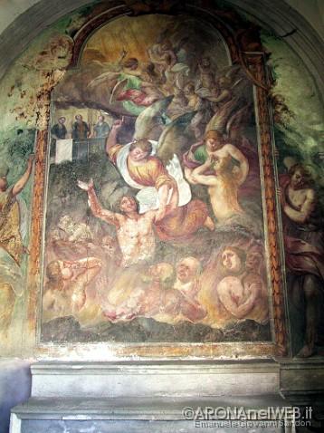 Cappella Beolco - affresco interno