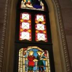 Chiesa dei Santi Martiri - vetrata seconda cappella sud