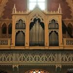 Chiesa dei Santi Martiri - organo, particolare tastiera