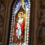 Chiesa dei Santi Martiri - vetrata policroma San Graziano
