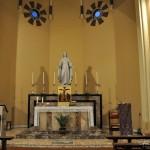 Chiesa del Sacro Cuore - altare