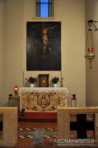 Chiesa del Sacro Cuore - cappella di destra