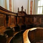 Chiesa di San Giuseppe - coro particolare dei seggi