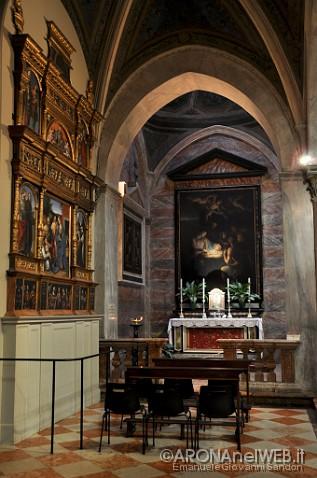 Chiesa di Santa Maria - cappella della Natività