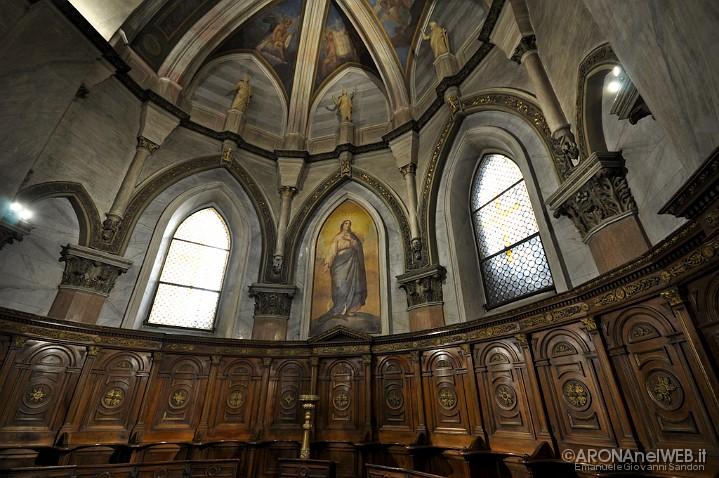 Chiesa di Santa Maria - coro e tela del Nuvolone