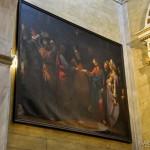 """Chiesa di Santa Maria - cappella dell'Addolorata, dipinto """"il matrimonio della Vergine"""""""