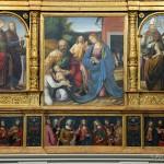 Chiesa di Santa Maria - Polittico Gaudenzio Ferrari, parte inferiore
