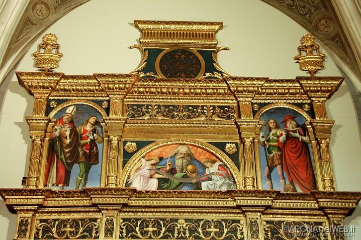 Chiesa di Santa Maria - Polittico Gaudenzio Ferrari, parte superiore