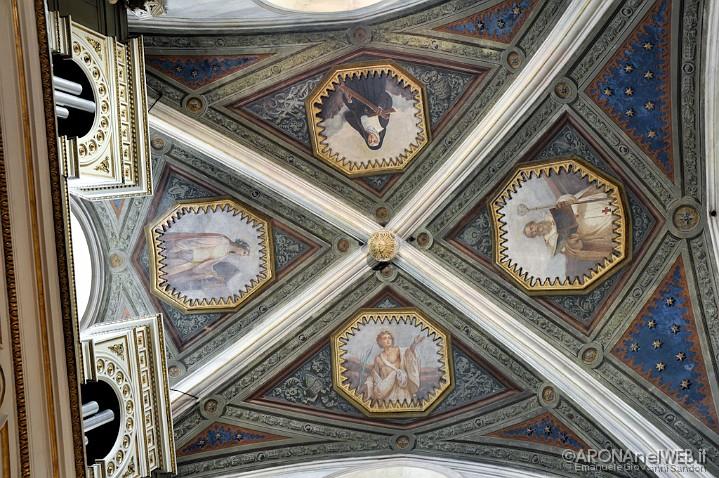 Chiesa di Santa Maria - soffitto navata centrale