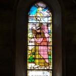 Chiesa di Santa Maria - vetrata S. Anna