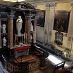 Chiesa di Santa Marta - la casa vista dall'organo