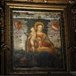 Chiesa di Santa Marta - interno della casa, particolare affresco