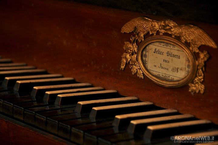 Chiesa di Santa Marta - particolare tastiera