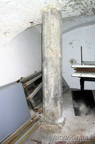ex Monastero della Purificazione - colonna ottagonale