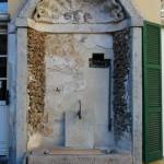ex Monastero della Purificazione - fontana presente nel cortile