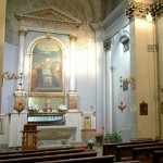 Monastero della Visitazione - interno chiesa fedeli