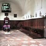 Monastero della Visitazione - chiesa lato clausura vista dal vetro dal lato pubblico
