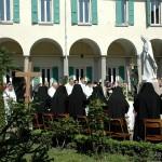 Monastero della Visitazione - il giardino interno