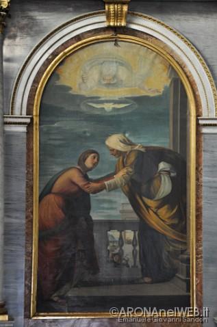 Monastero della Visitazione - pala altare di Gaudenzio Magistrini