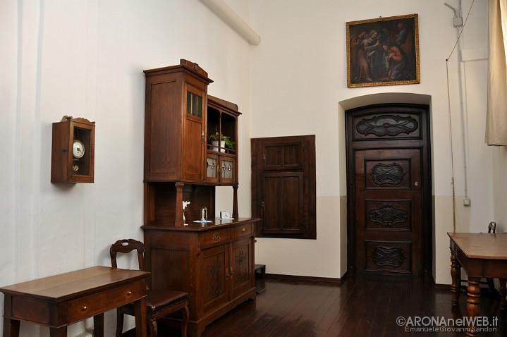 Monastero della Visitazione - porta della clausura