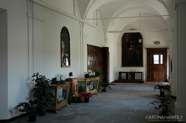 Monastero della Visitazione - corridoio interno della clausura