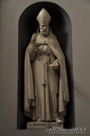 Monastero della Visitazione - statua di San Francesco di Sales