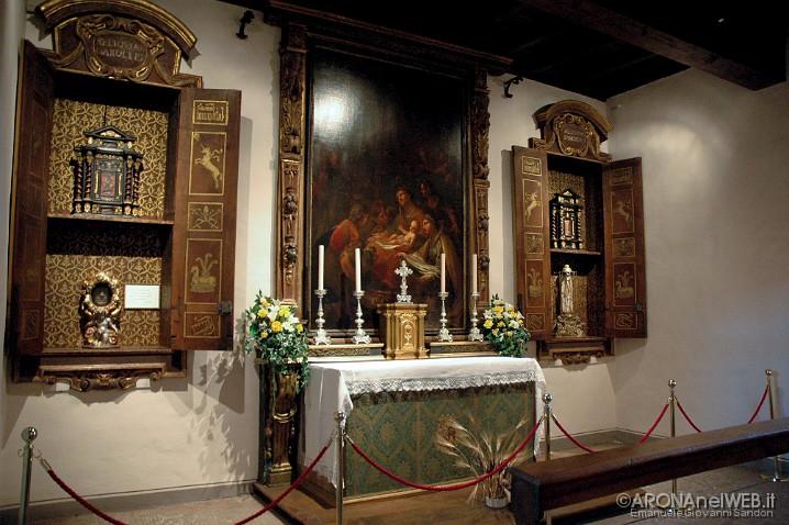 Chiesa di San Carlo, Camera dei Tre Laghi