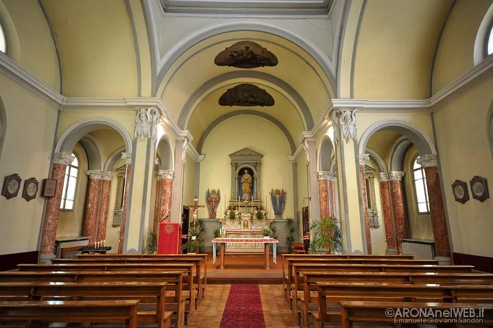 Cappella di San Carlo Borromeo all'interno del Seminario
