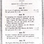 documento storico - tariffe 1812