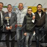 EGS2016_07629 | La premiazione dell'assoluto: da sinistra Ciampi, il vincitore Fierro, Maijnelli, Ferrari, Faleo e Fero.