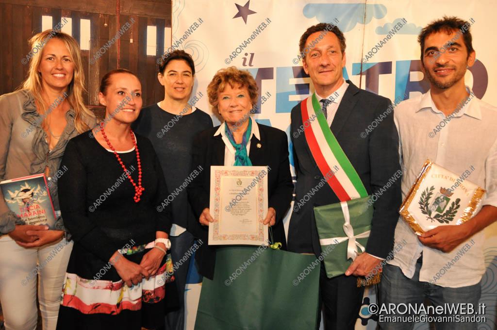 EGS2016_20175   conferimento cittadinanza onoraria di Arona a Dacia Maraini