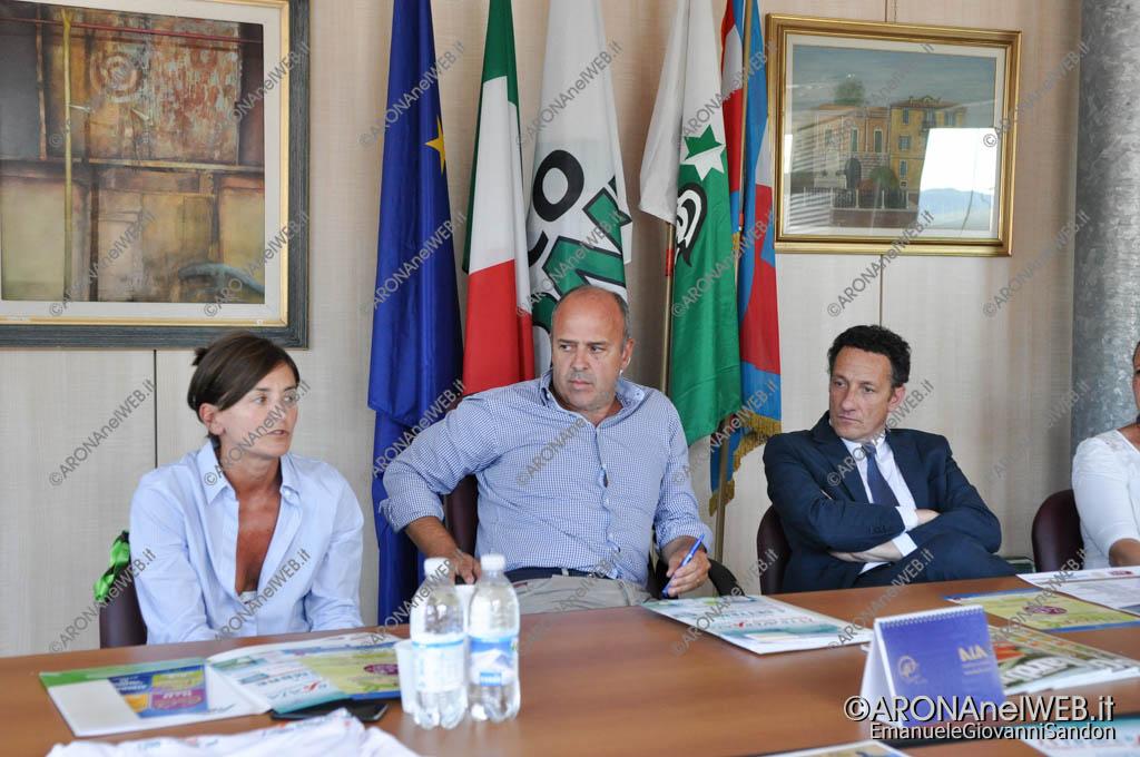 EGS2016_20232   Alberto Tampieri, presidente Pro Loco Arona (al centro)