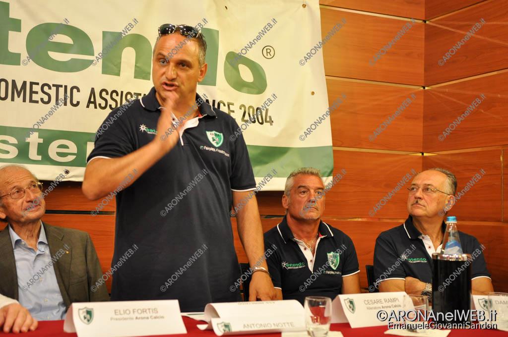 EGS2016_25646   Antonio Notte, direttore generale Arona Calcio