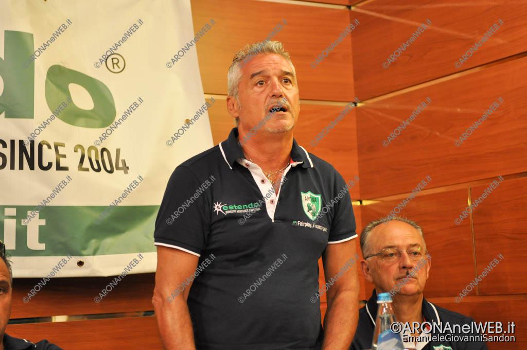 EGS2016_25655   Cesare Rampi, alllenatore Arona Calcio