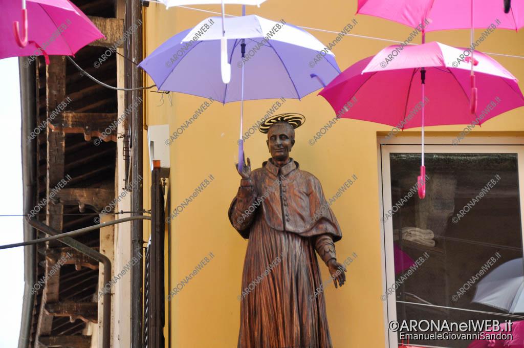 EGS2016_26057 | La statua del San Carlino in un'immagine d'archivio