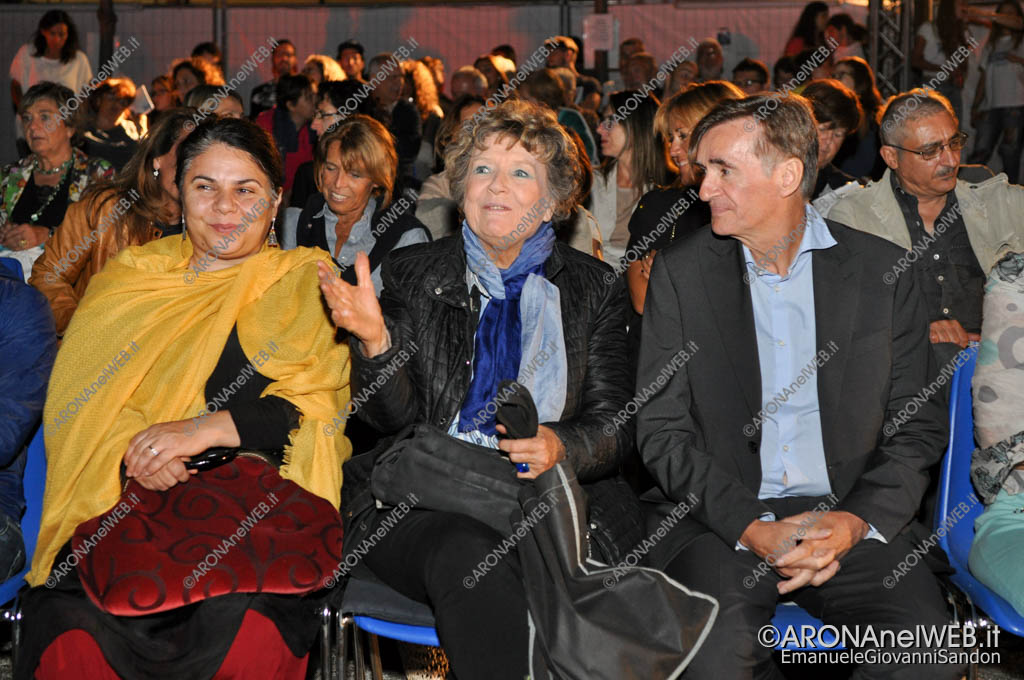 EGS2016_27339   Dacia Maraini con Hervé Ducroux registra di Bakunin e Michela Murgia
