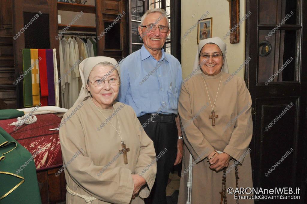 EGS2016_28394 | Don Francesco Gagliazzi con le sorelle Francescane Anna e Alba