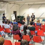 EGS2016_29679   Matteo Besozzi incontra i ragazzi dell'Istituto Fermi di Arona