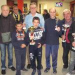 I vincitori della 56° Gara Provinciale di Dama