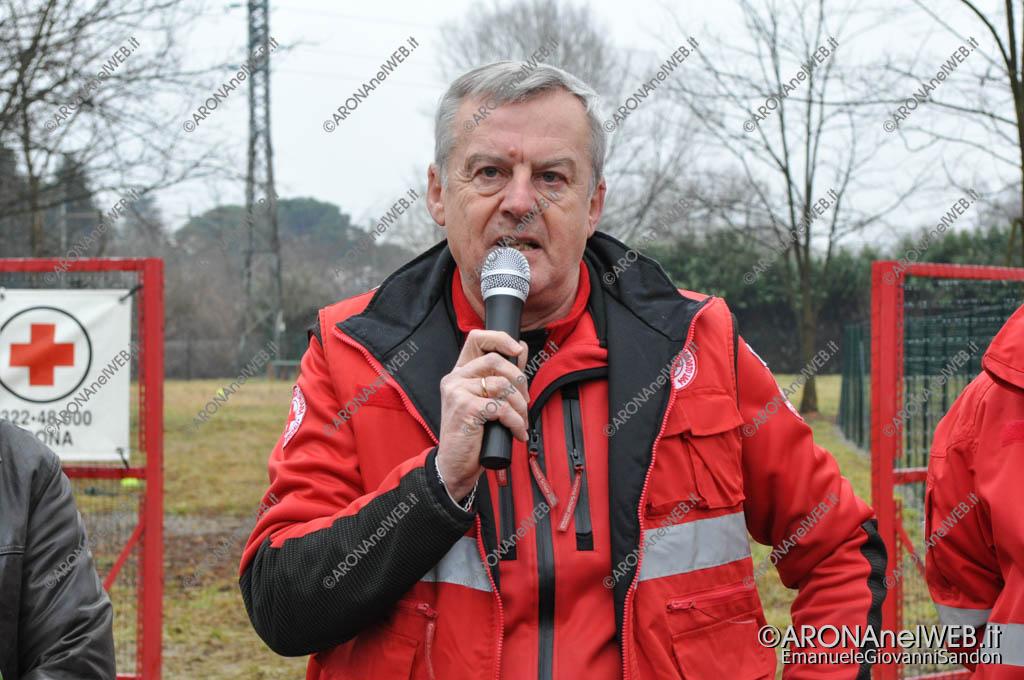 EGS2017_02445   Paolo Lanzani, referente nazionale unità cinofile Croce Rossa Italiana
