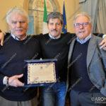 EGS2017_03253 | Alessandro Anedda con Ferdinando Cavallini e Silvestro Triggiani