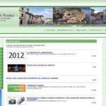 Il sito web istituzionale nel 2012