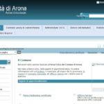 Il sito web istituzionale nel 2016