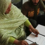 ViaggioSaharawi2017 | Consegna contributi e firma ricevute